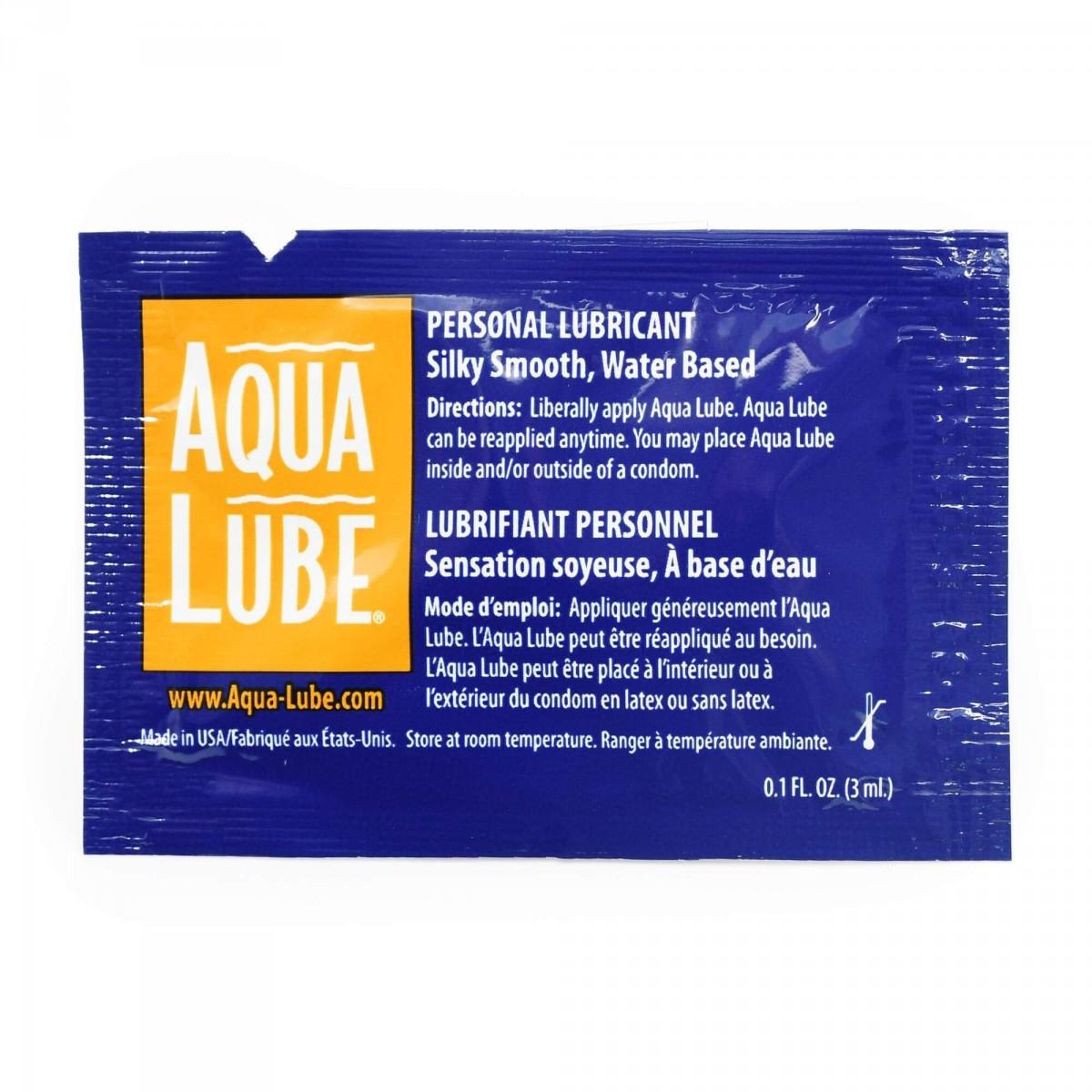 Aqualube Lubricant 3 ml