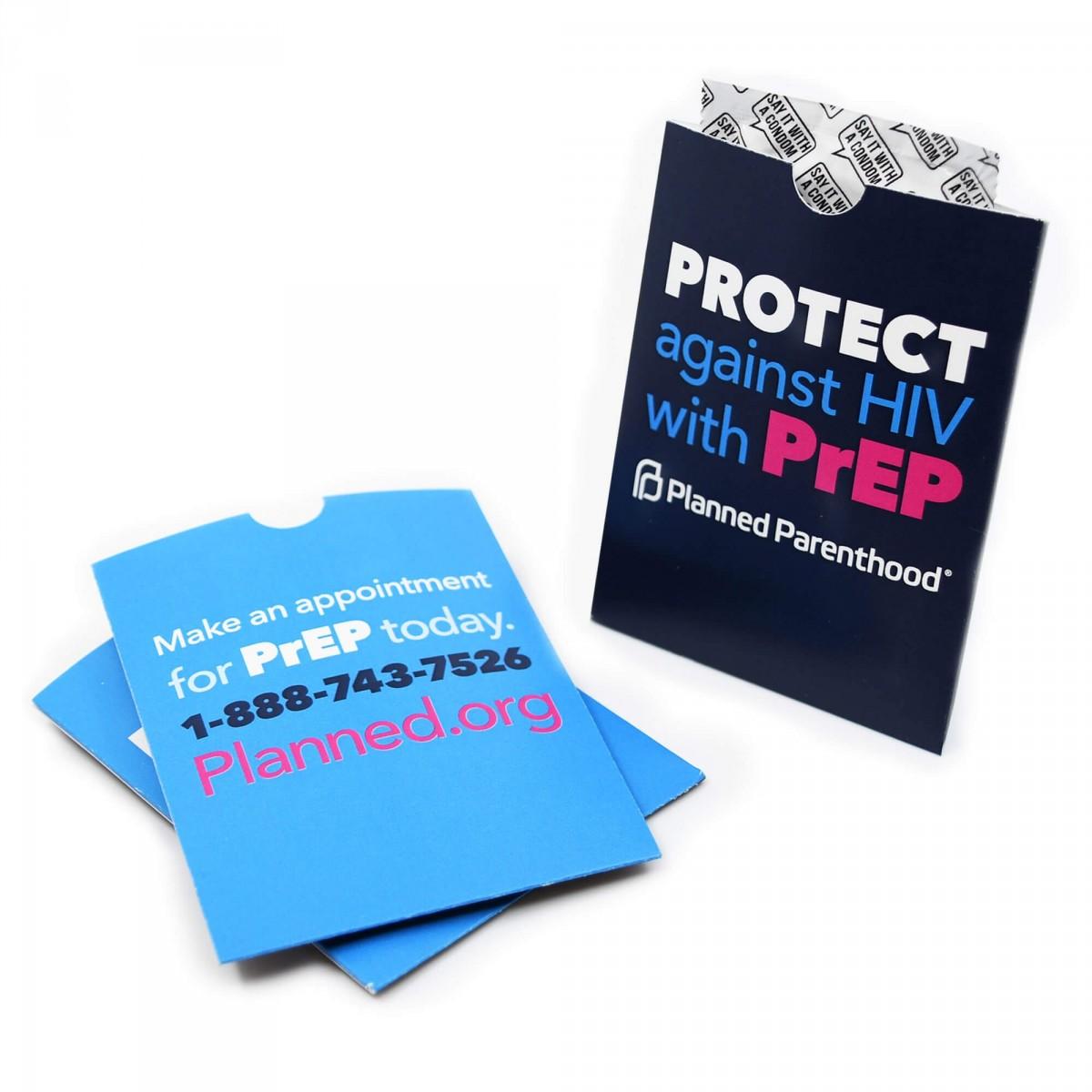 Condom Custom Holders
