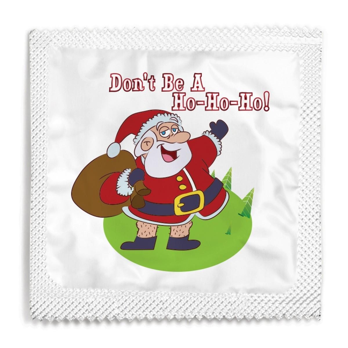 Don't Be A Ho-Ho-Ho Condom