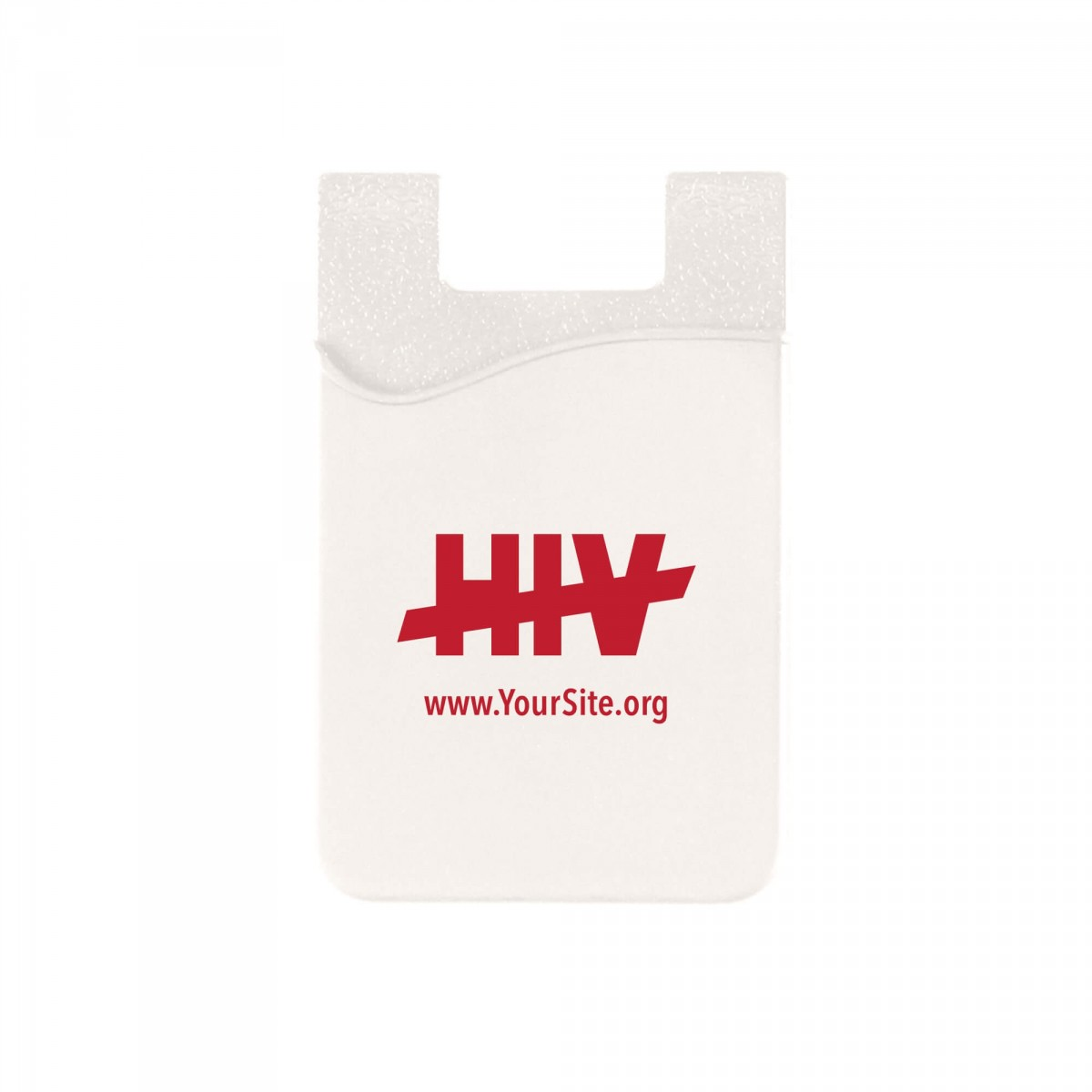 End HIV Cell Phone Wallet
