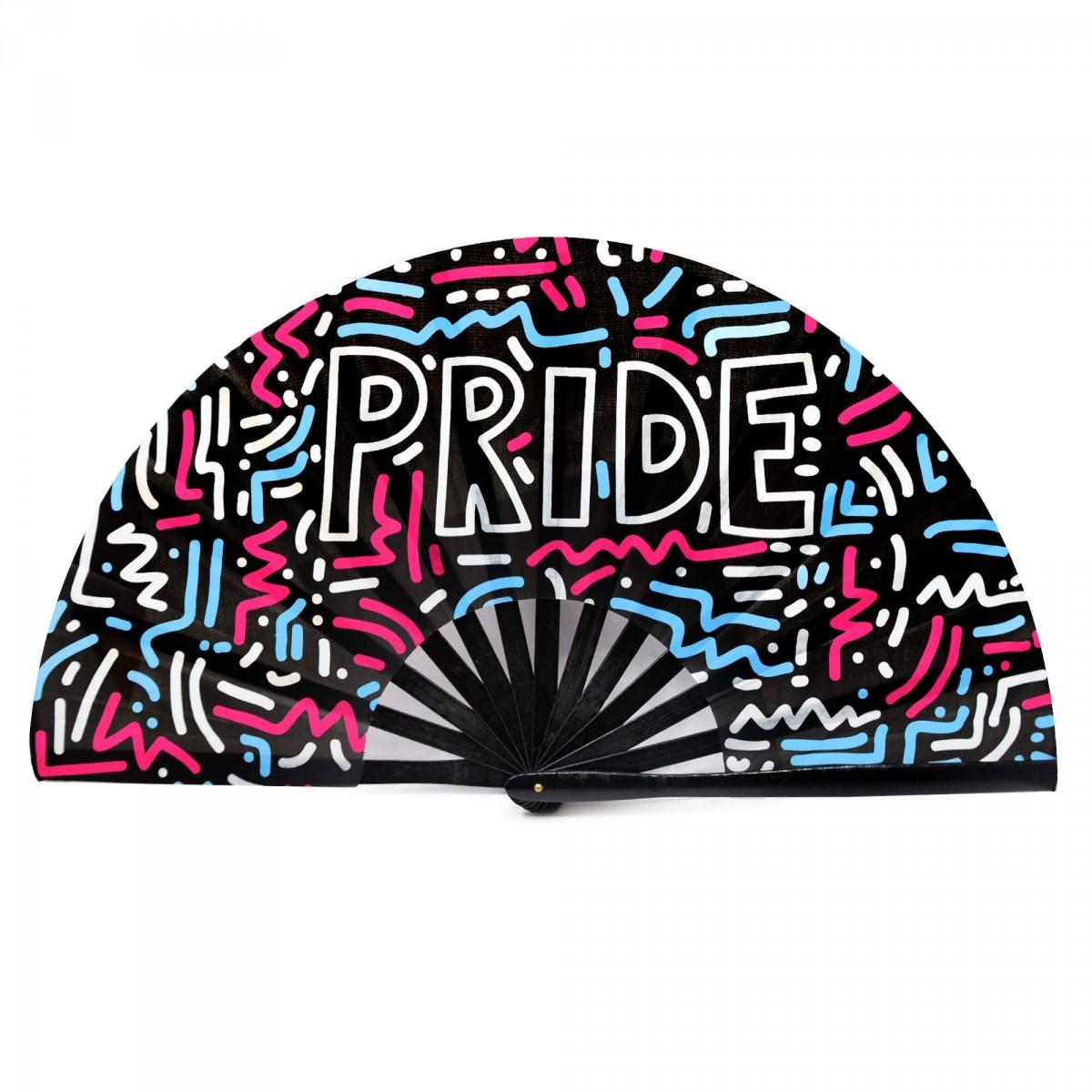 Gay Pride Clacker Fan