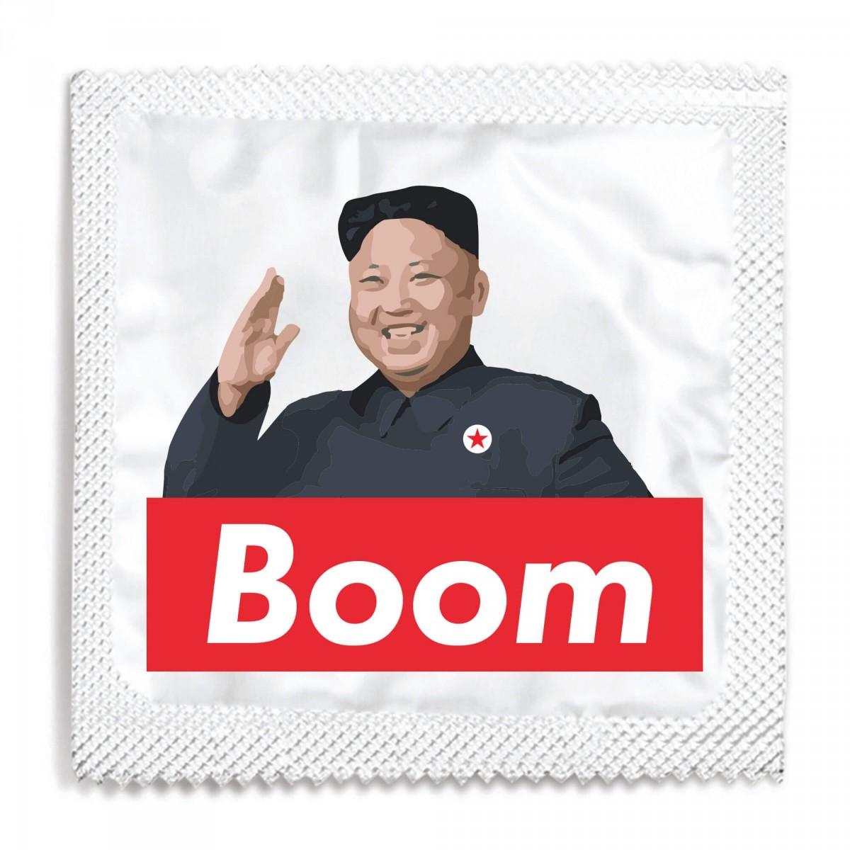 Kim Jong Boom Condom