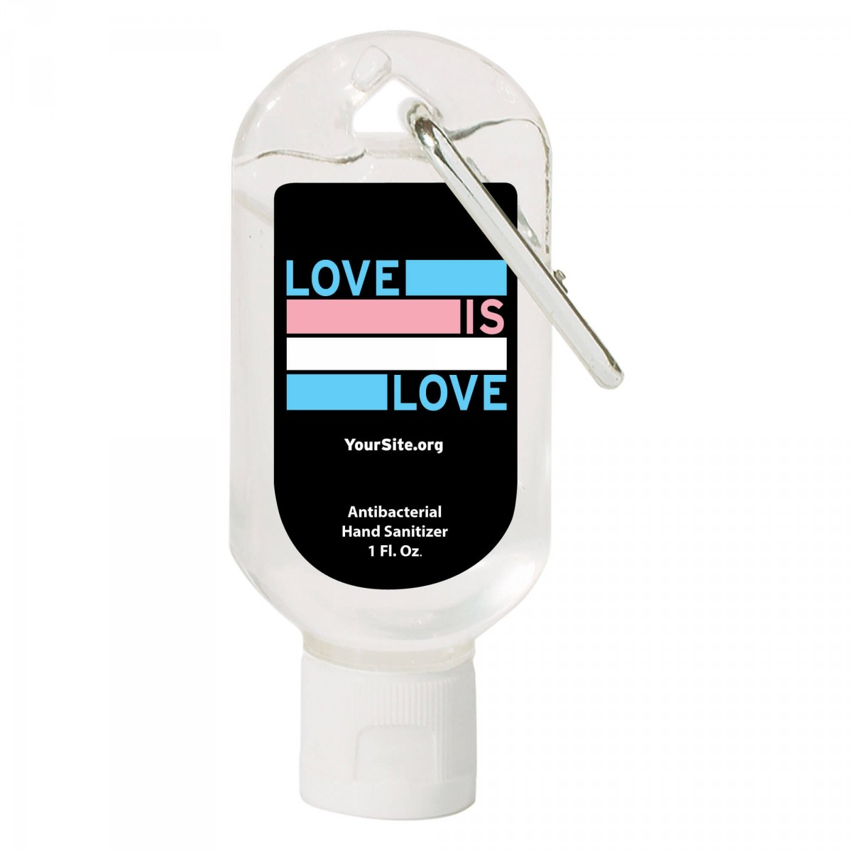 Love Is Love Trans Pride Hand Sanitizer