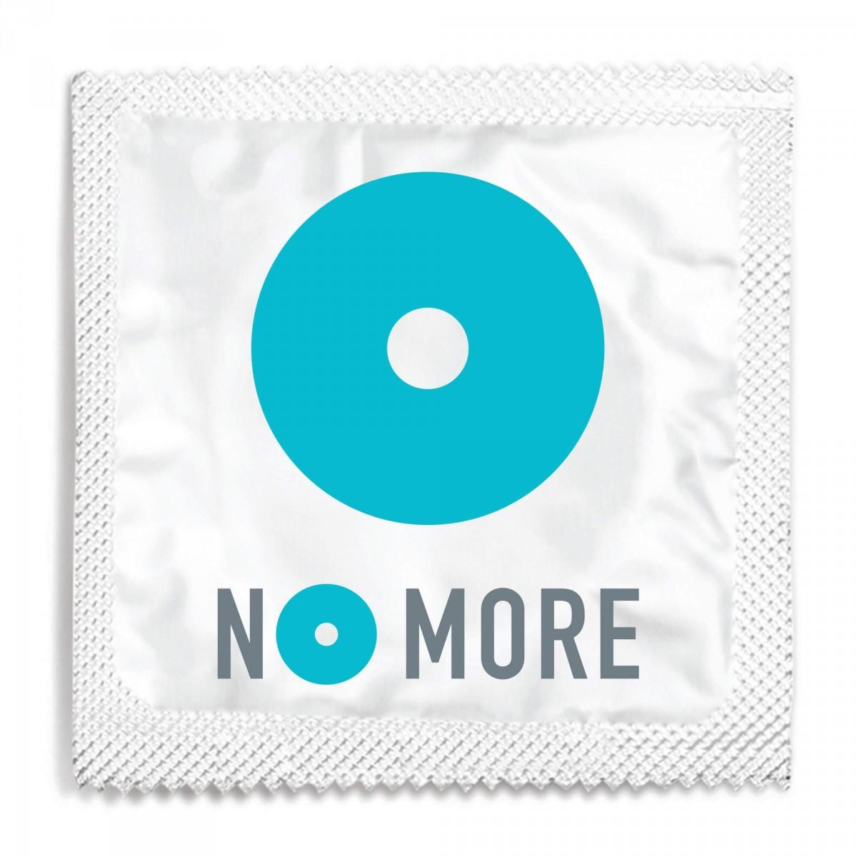 NO MORE Logo Condom