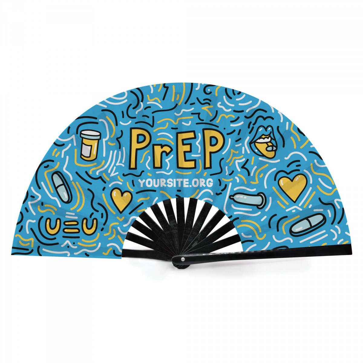 PrEP Safely Snap Fan