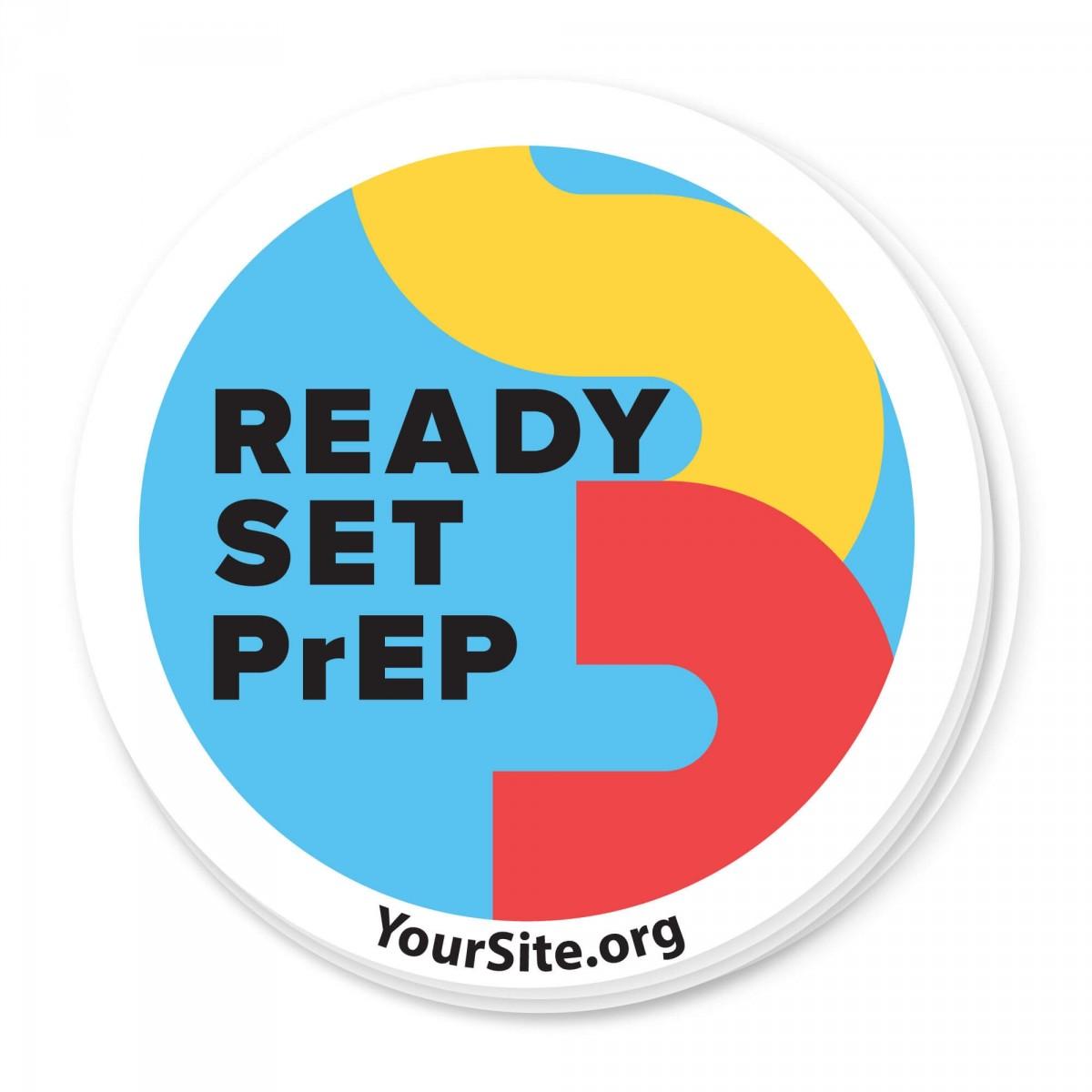 RSP Ready Set PrEP Sticker