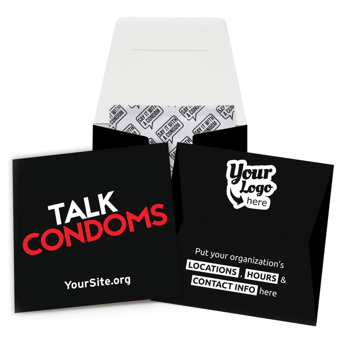 Talk Condoms Condom Wallet