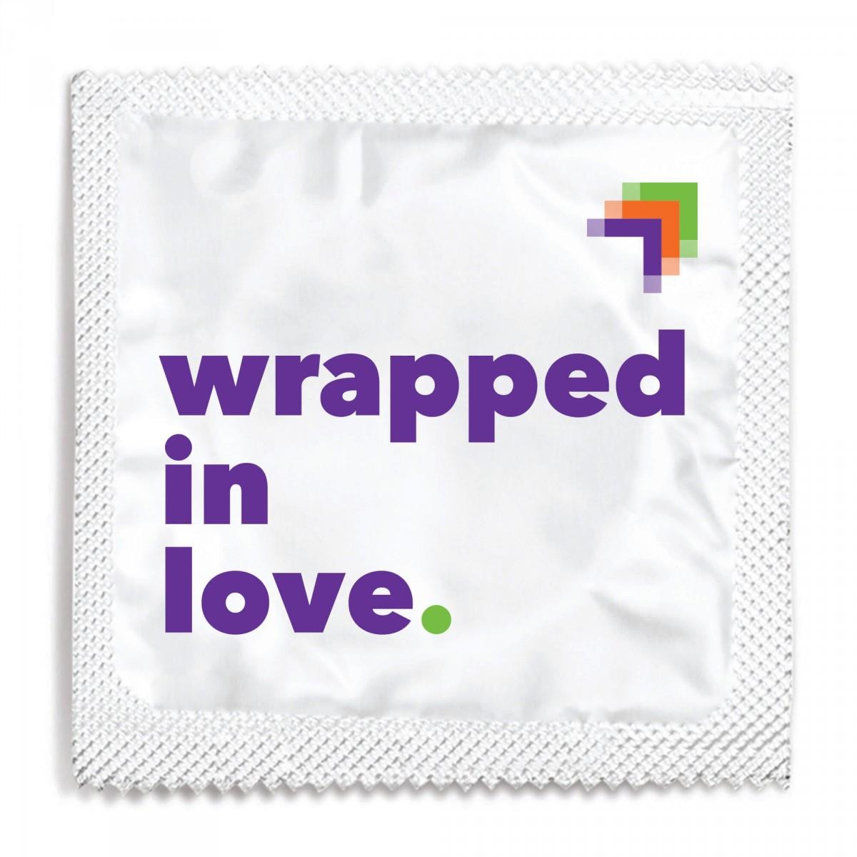 National LGBTQ Task Force Condom Foil