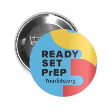 RSP Ready Set PrEP Button Pin