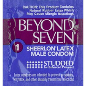 Beyond Seven Studded Condoms