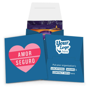 Amor Seguro Internal Condom Wallet