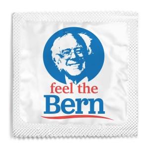 Bernie Sanders Condom - Feel The Bern