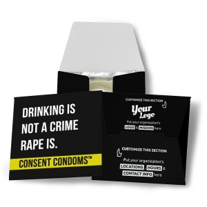 Drinking Is Not A Crime Condom Wallet