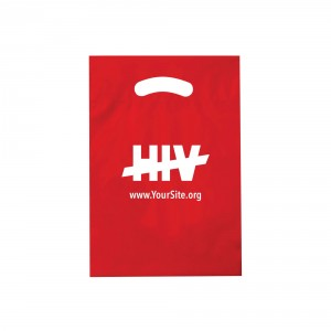 End HIV Handout Bag - Plastic Recyclable