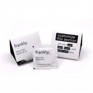 frankly, Condom Trifolds