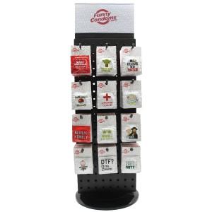 Funny Condoms POP Display with Top 24 Designs
