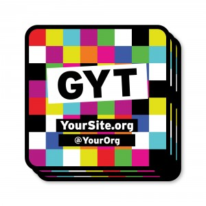 GYT Get Yourself Tested Sticker