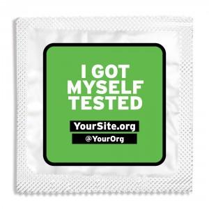 IGMT I Got Myself Tested Condom