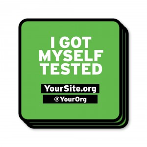 IGMT I Got Myself Tested Sticker