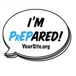 PrEPARED Sticker