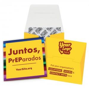 Juntos PrEParados Condom Wallet
