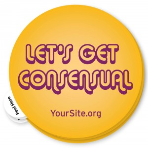 Let's Get Consensual Sticker