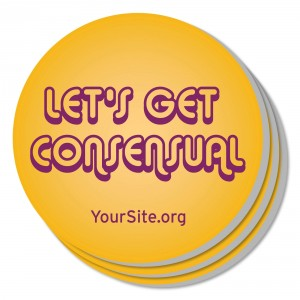 Let's Get Consensual Coaster