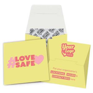 Love Safe Condom Wallet