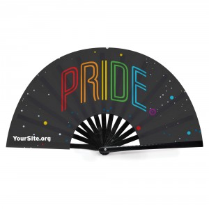 Pride Neon Snap Fan