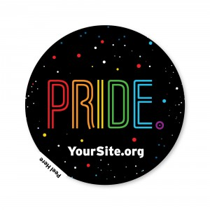 Pride Neon Sticker