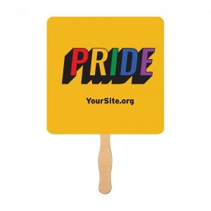 Retro Gay Pride Mini Fan