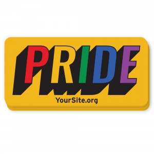 Retro Gay Pride Sticker