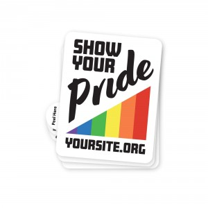 Show Your Pride Sticker