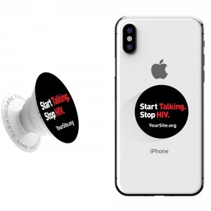 Start Talking Stop HIV PopSocket