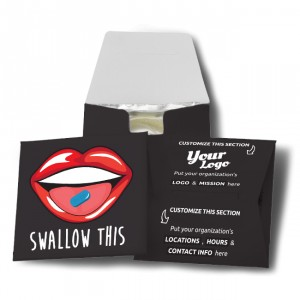 Swallow This Condom Wallet