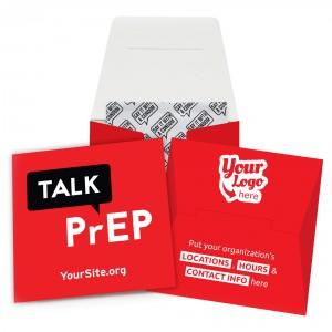 Talk PrEP Condom Wallet