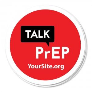 Talk PrEP Sticker
