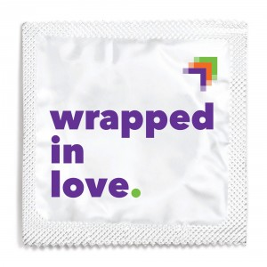 National LGBTQ Task Force Condom Foil