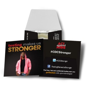 Testing Makes Us Stronger Condom - Pink Hoodie
