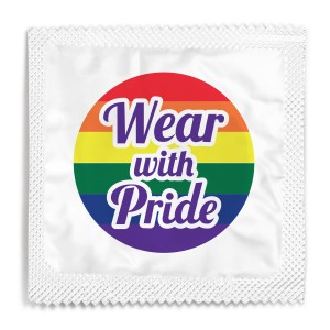 Wear With Pride Condom
