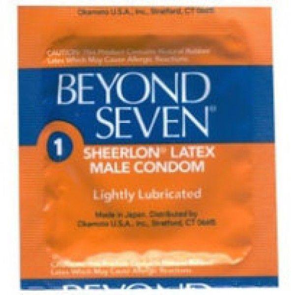 Beyond Seven Lightly Lubricated Condoms