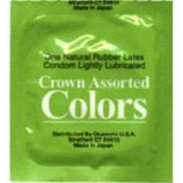 Crown Assorted Colors Condoms