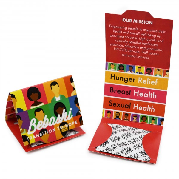 Condom Custom Trifolds