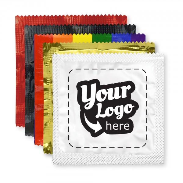 Custom Foil Condoms