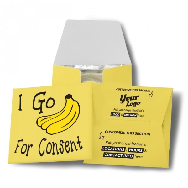 I Go Bananas For Consent Wallet