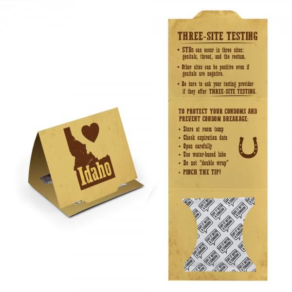 Idaho State Trifold - I Love Idaho