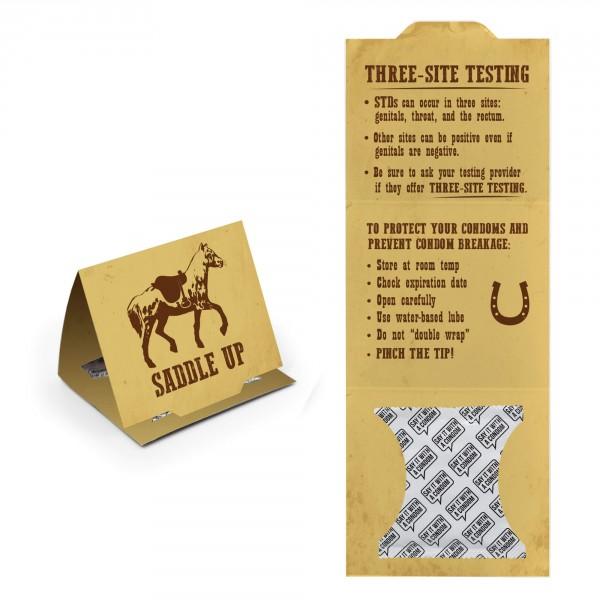 Idaho State Trifold - Saddle Up