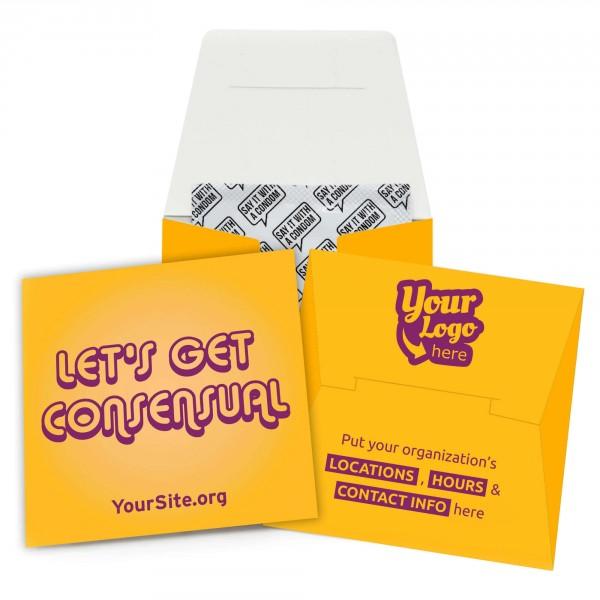 Let's Get Consensual Condom Wallet