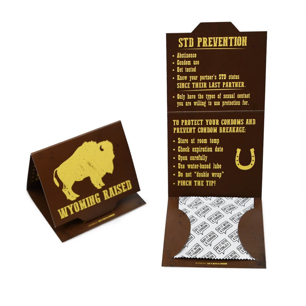 Condom Custom Packaging Wyoming