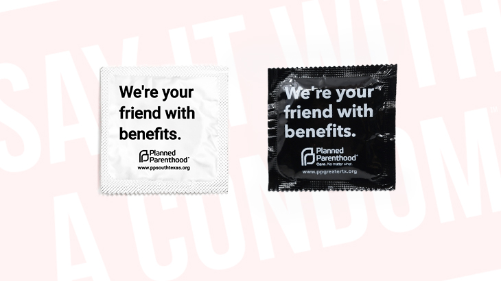 Custom Condoms Made by Planned Parenthood